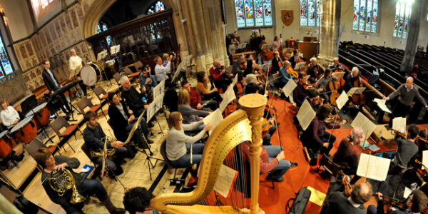 Bruch with Newbury Symphony Orchestra